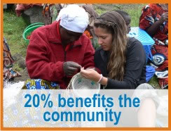 20% benefits community
